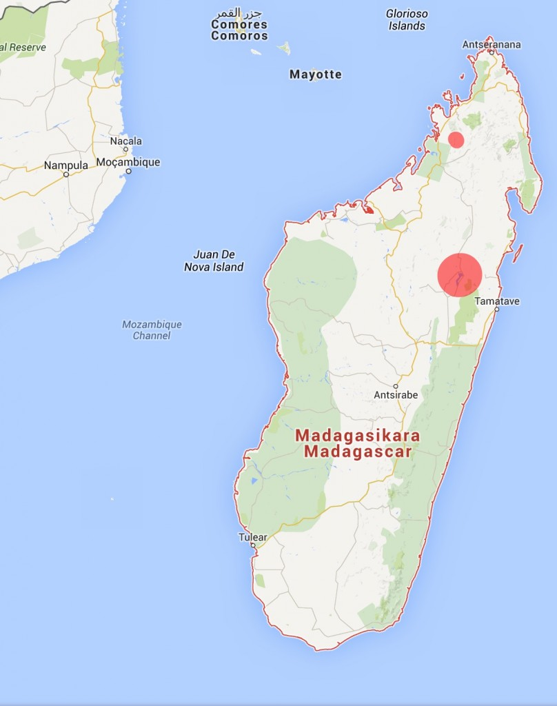 Madagascar Pochard distribution